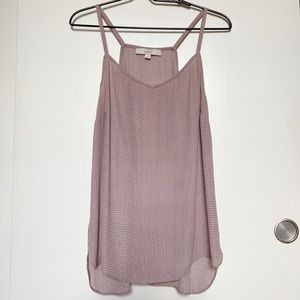 Loft Ann Taylor High Low Flowy Tank Top